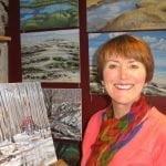 Nicole Gilbert, Artiste peintre