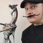 Robin Laverdure, Artiste sculpteur